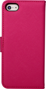 Flip case for Apple iPhone 5/5s with Mirror, Pink by The Kase Collection