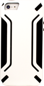 Case for Apple iPhone 5/5S, White Anti-shock by The Kase Collection