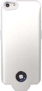 External Battery Slim case for Apple iPhone 5/5S, White by The Kase Collection