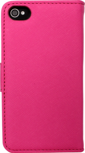 Flip case for Apple iPhone 4/4S with Mirror, Pink by The Kase Collection