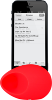Egg Sound amplifier for Apple iPhone 4/4S, Red by The Kase Collection
