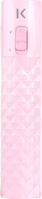 Lipstick Power Bank 2600 mAh, Pink by The Kase Collection