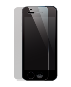 Tempered Glass Screen Protector for Apple iPhone 5/5S/5C, Transparent by The Kase Collection