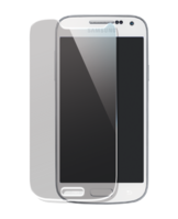 Tempered Glass Screen Protector for Samsung Galaxy S4 mini, Transparent by The Kase Collection