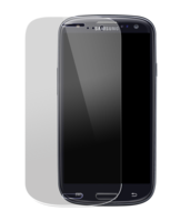 Tempered Glass Screen Protector for Samsung Galaxy S3, Transparent by The Kase Collection