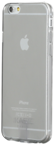 Silicone Case for Apple iPhone 6 (4.7 inch), Grey Transparent Ultra Slim 0.65mm by The Kase Collection