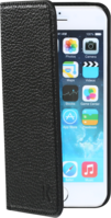 Book Type Flip case with credit card slots for Apple iPhone 6 (4.7 inch), Shrunken Black leather by The Kase Collection