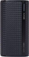 Fashionista Power Bank, 5600 mAh, Graphite Black by The Kase Collection