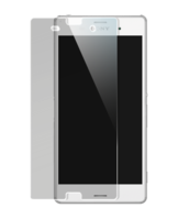 Tempered Glass Screen Protector for Sony Xperia Z3, Transparent by The Kase Collection